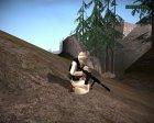 Талибский армеец v10 for GTA San Andreas back view