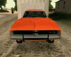 Dodge Charger General Lee for GTA San Andreas top view