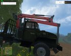 Лесовоз УРАЛ for Farming Simulator 2015 left view