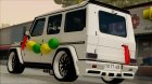 Mercedes Benz G65 Hamann Tuning Wedding Version для GTA San Andreas вид сбоку