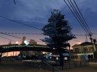 Новогодние декорации Гроув-стрит для GTA San Andreas вид изнутри