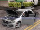 Mercedes-Benz A45 AMG 2012 (Second Complect Paintjobs) для GTA San Andreas вид сзади