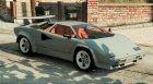 1988 Lamborghini Countach LP500 QV 1.2 для GTA 5 вид сверху