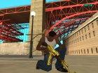 Gold gun`s by Nikitos1k2207 для GTA San Andreas вид сзади