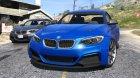 2014 BMW 235i F22 v1.1 для GTA 5 вид сзади