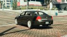 2014 Chevrolet Caprice LS (Arabic Badges) для GTA 5 вид сзади слева