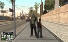 Killer Croc from Batman Arkham Origins для GTA San Andreas вид сзади слева