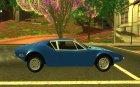 1971 De Tomaso Pantera for GTA San Andreas inside view