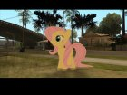 Fluttershy (My Little Pony) for GTA San Andreas top view