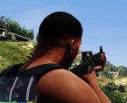 Battlefield 4 M16A4 for GTA 5 top view