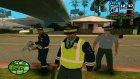 Русская Полиция (летняя форма) для GTA San Andreas вид сбоку