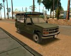Chevrolet Silverado Military Utility Truck 1990 for GTA San Andreas rear-left view