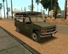 Chevrolet Silverado Military Utility Truck 1990 для GTA San Andreas вид сзади слева