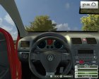VW Golf Gti v1.0 Red for Farming Simulator 2013 side view