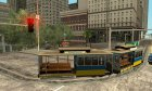 Tram, painted in the colors of the flag v.2 by Vexillum для GTA San Andreas вид слева