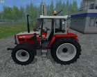 Steyr 8090a Turbo SK2 Electronic for Farming Simulator 2015 top view