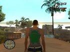 Замена белой майки для GTA San Andreas вид сверху