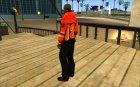 Балахон 2 для GTA San Andreas вид слева
