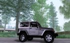 2012 Jeep Wrangler Rubicon для GTA San Andreas вид изнутри