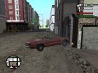 Анимация при авариях для GTA San Andreas вид сзади слева