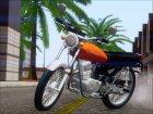 Honda CG 125 Classic for GTA San Andreas