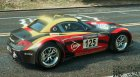 BMW Z4 GT3 v2.1 for GTA 5 top view