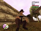 Индиана Джонс для GTA San Andreas вид сбоку