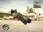 Rocket Launcher From Resident Evil: Operation Raccoon City для GTA San Andreas вид сзади слева