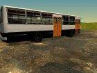 Икарус 260.43 Пригородная модификация для GTA San Andreas вид сверху
