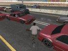 Живой CJ как в GTA VC для GTA San Andreas вид изнутри