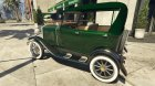 Ford T 1927 Tin Lizzie for GTA 5 rear-left view