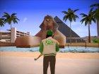 Fam Girl(GTA 5) для GTA San Andreas вид сзади слева