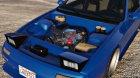 Mazda RX7 FC3S для GTA 5 вид сбоку