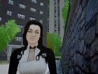 Миранда из Mass Effect 3 для GTA 4 вид сзади слева
