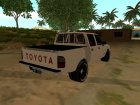 Toyota Hilux 2004 for GTA San Andreas rear-left view