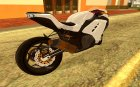 Kawasaki Ninja 250 fi for GTA San Andreas left view