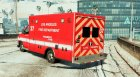 Ford E450 LAFD Ambulance 4K for GTA 5 left view