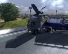 House & Truck Testing Area v3.0 for Euro Truck Simulator 2 rear-left view