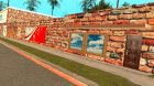 Новый Спортзал в Гантоне №1 для GTA San Andreas вид справа