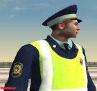 Инспектор ДПС в форме старого образца for GTA San Andreas side view