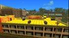 Motel Jefferson в ярких и тёплых тонах для GTA San Andreas вид сверху