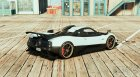 Pagani Zonda Cinque for GTA 5 rear-left view