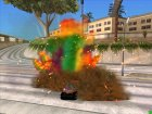 Rainbow Effects for GTA San Andreas rear-left view
