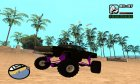 Picador Monster Truck для GTA San Andreas вид слева