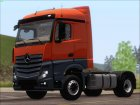 Mercedes-Benz Actros MP4 Stream Space Black  4x2 V2.0 для GTA San Andreas вид слева