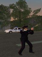 Полицейская девушка ППС России for GTA San Andreas side view