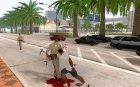 Axe custom for GTA San Andreas rear-left view