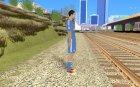 Криштиану Роналду v2 для GTA San Andreas вид сверху