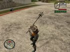 Aquaman Trident From Injustice Gods Among Us для GTA San Andreas вид слева