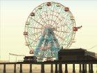 GTA IV Ferris Wheel Liberty Eye для GTA San Andreas вид сверху